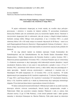 Oficerowie Wojska Polskiego, związani z Wadowicami
