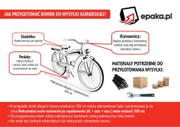 jak przygotować rower do wysyłki kurierskiej?
