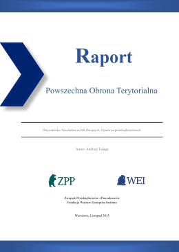 23.11.2015 Raport: Powszechna Obrona Terytorialna2M