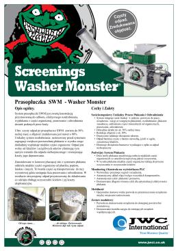 Screenings Washer Monster®