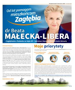 Informator Beaty Małeckiej-Libery, czerwiec 2015