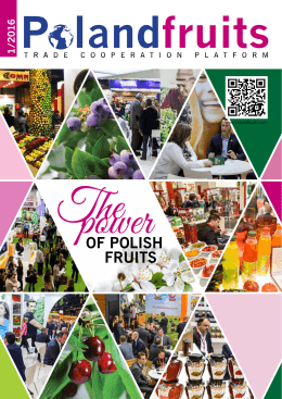 The power of Polish fruits