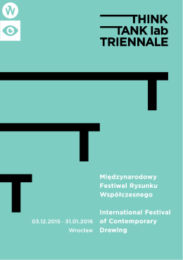 program (pdf - Think Tank lab Triennale