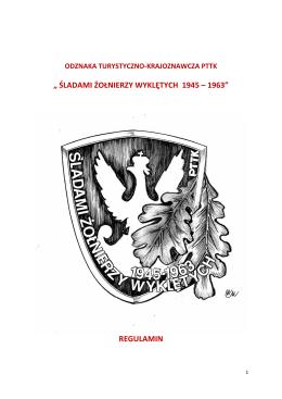 śladami żołnierzy wyklętych 1945 – 1963