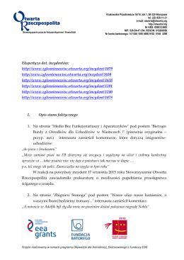 Ekspertyza prawna nr 4 - Otwarta Rzeczpospolita