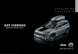 Akcesoria Jeep Cherokee