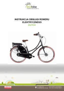 Instrukcja obslugi roweru