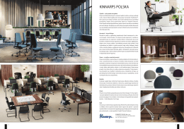 KINNARPS POLSKA - Produkty Dla Architekta