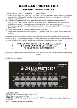 8-CH LAN PROTECTOR