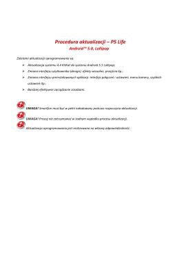 Procedura aktualizacji – P5 Life