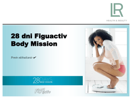 link do prezentacji body mision 28 days - Natural