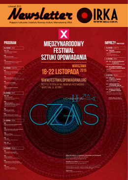 Magazyn kulturalny Instytutu Rozwoju Kultury Alternatywnej IRKA