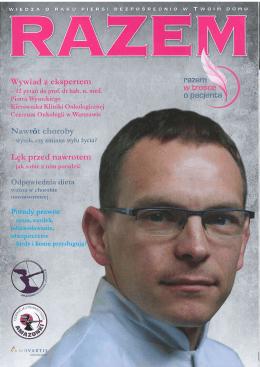 Razem - Prof. dr hab. n med. Piotr J. Wysocki