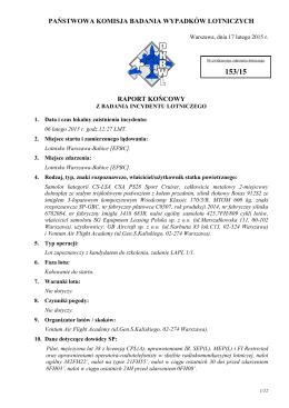 Raport końcowy 153/15 - Portal · dlapilota.pl