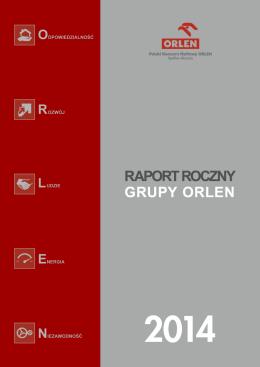 komisja nadzoru finansowego - Raport zintegrowany Orlen 2014