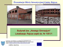 prezentacja oferty inwestycyjnej gminy rajcza