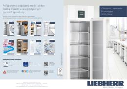 Profesjonalne urządzenia marki Liebherr można znaleźć w