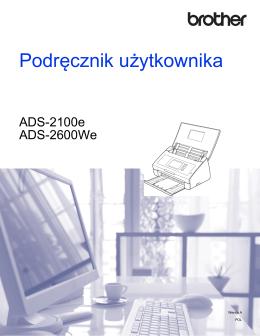 Podręcznik użytkownikaADS-2100e/ADS-2600We