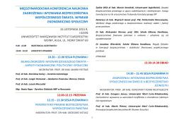 międzynarodowa konferencja naukowa zagrożenia i wyzwania
