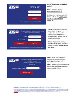 instrukcja migracji do BIZ Online