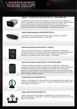 Gazetka PDF - Voice Kraft