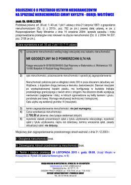Ogłoszenie_o_przetargu - Knyszyn, Urząd Miasta
