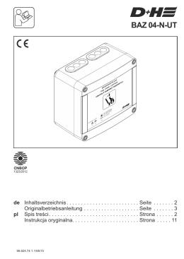 BAZ 04-N-UT - D+H Mechatronic