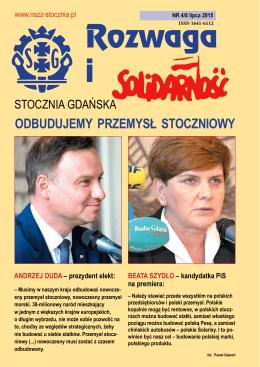 - NSZZ Solidarność Stoczni Gdańskiej