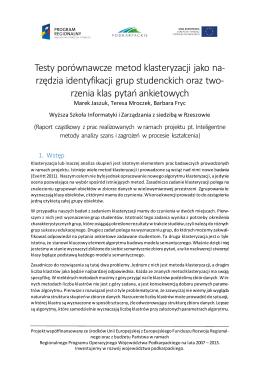 publikacja on-line - Wyższa Szkoła Informatyki i Zarządzania z