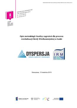 Raport Metodologiczny Analizy możliwych zagrożeń oraz sposobów