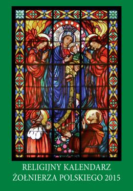 Religijny KalendaRz żołnieRza PolsKiego 2015