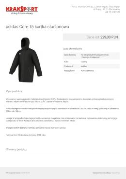 adidas Core 15 kurtka stadionowa