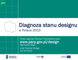 Diagnoza stanu designu - Polska Agencja Rozwoju