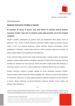 Dyskont Czerwona Torebka w Żarach