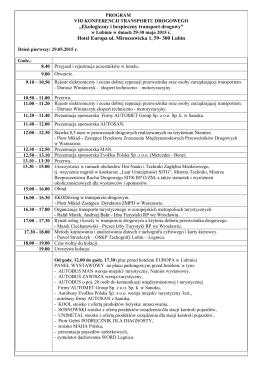 3. Link do programu konferencji