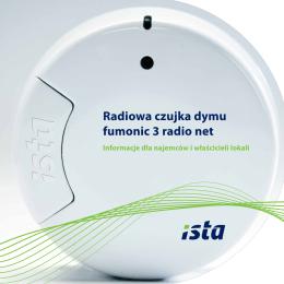 Radiowa czujka dymu fumonic 3 radio net