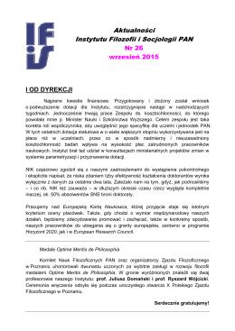 AktualnościIFiS PAN_9.15 - Instytut Filozofii i Socjologii Polskiej