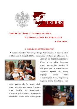 Czytaj całość - Zespół Szkół w Choroszczy