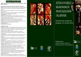 Program - Instytut Historii Sztuki UJ w Krakowie