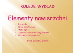 2. Elementy nawierzchni