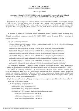 xiv-109-2015 obligacje