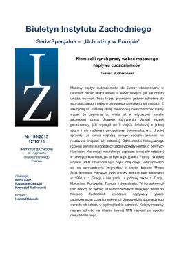 Acrobat: pdf 82 KB - Instytut Zachodni w Poznaniu