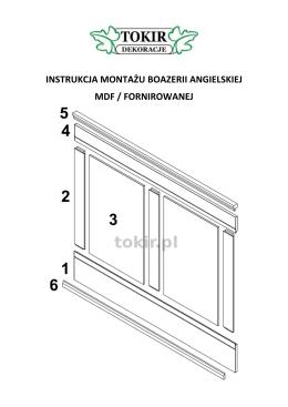 Pobierz instrukcję montażu boazerii angielskiej ()