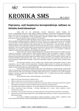 KRONIKA SMS NR 7/2015