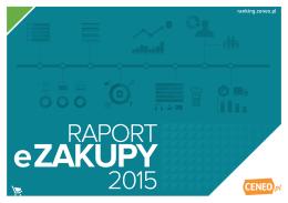 E-zakupy 2015 - Ranking Ceneo