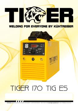 TIGER 170 TIG ES - tiger