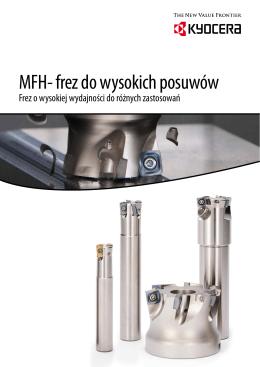 MFH- frez do wysokich posuwów