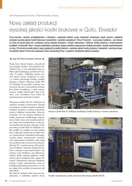 Nowy zakład produkcji wysokiej jakości kostki - CPI