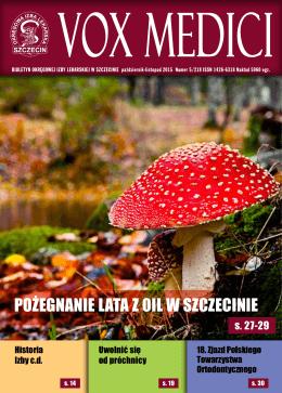 Vox Medici 5/2015 - Okręgowa Izba Lekarska w Szczecinie