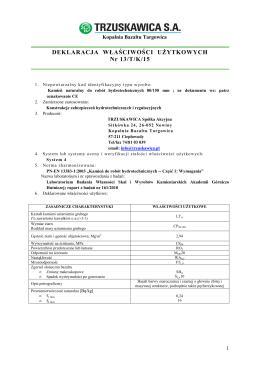 13-TK-15 \(kamień hydrotechniczny 80-150 \)